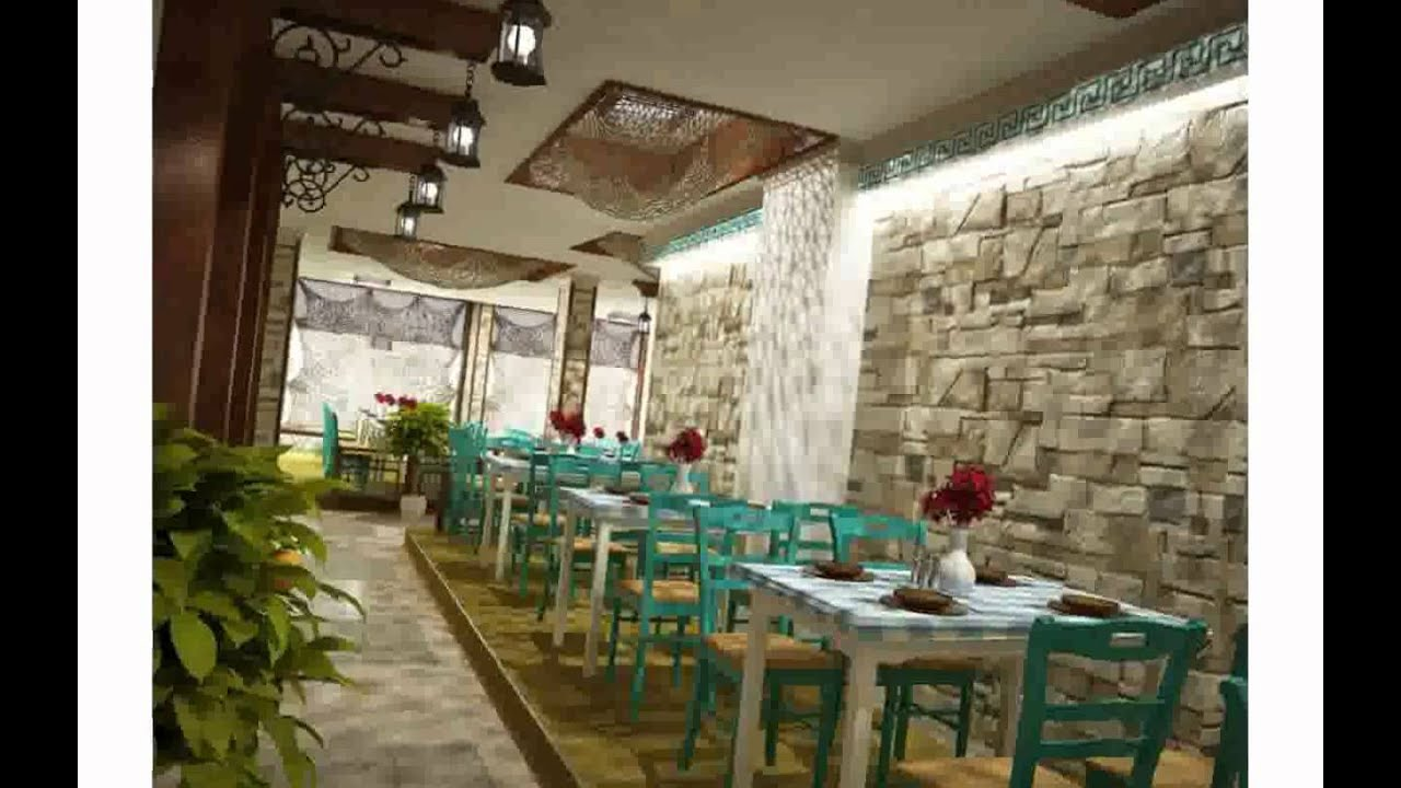 Restaurant design ideas pictures youtube - Interior design small spaces ideas gallery ...