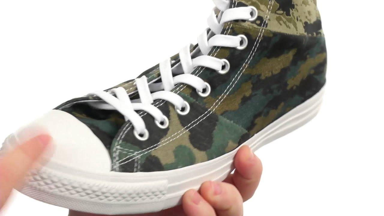 Converse - Chuck Taylor® All Star® Tri-Panel Camo Hi SKU 8514650 ... c4103fe3e