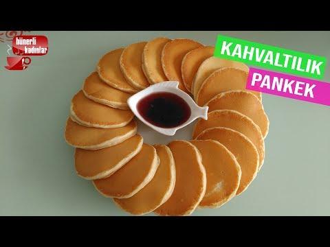 En Kolay Kahvaltılık Pankek Tarifi