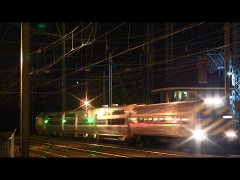 Amtrak Viewliner II High Speed Testing @ Princeton Jct (Cab Car LEADS HHP-8)