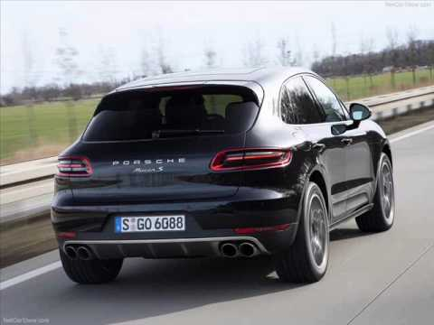 All New 2014 Porsche Macan S Black And Sliver Youtube