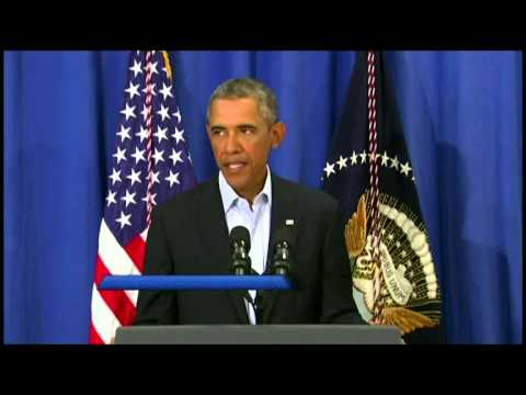 Obama Speaks On Foley Beheading