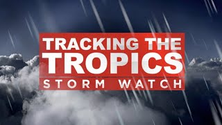 Tracking The Tropics 10-8-17 10AM
