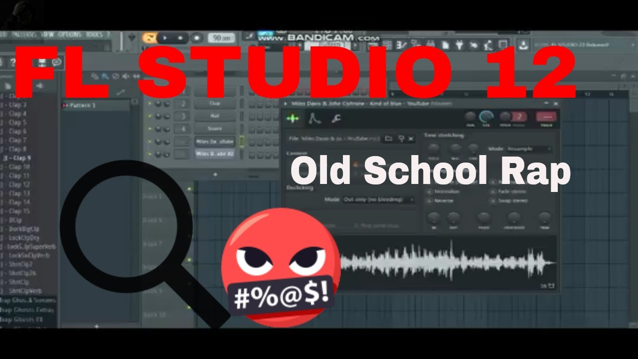 SAMPLE CHOP BOOM BAP OLD SCHOOL BEAT TUTORIAL