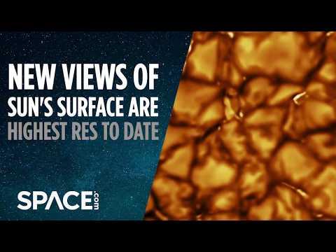 Sun's Surface Captured In Highest Resolution Yet