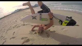 #TOURNOTES : John John Florence Teaches The Brazilian Groms His Secret To Airs