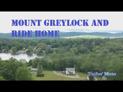 Mount Greylock and Ride Home- tire blows out | Vermont Trip Part Nine