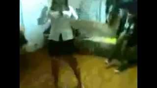 Uzbek girl undresses 2014