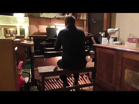 We give immortal praise - St Peter's Church, Cradley, Halesowen (Compton organ)