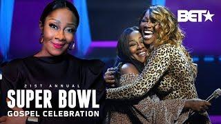 Making Of Le'Andria Johnson's Epic Super Bowl Gospel Performance W/ Yolanda Adams   Rehearsal 360°