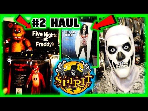 EPIC Spirit, Halloween Fortnite Haul! FOUND FNAF FEDDY, JEFF THE KILLER AND SKULL TROOPER COSTUME!