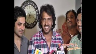 real star upendra talking about 1st rank raju after watching