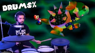 He Speedruns Super Mario 64 With a Drumset
