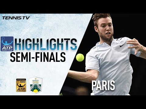 Saturday Highlights: Sock, Krajinovic Advance To Final In Paris 2017