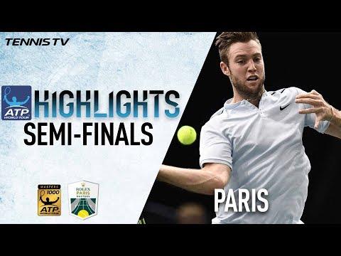 Saturday Highlights: Sock, Krajinovic Advance To Final In Paris 2017