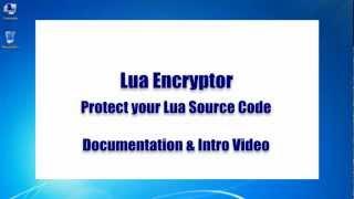 Lua Encryptor