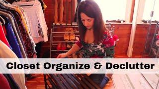 Closet Organize & Declutter