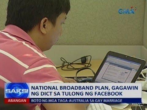 Saksi: National broadband plan, gagawin ng DICT sa tulong ng Facebook