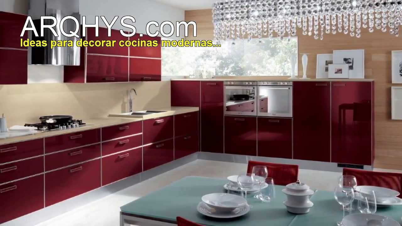 Cocinas modernas ideas fotos consejos tendencias for Decoracion paredes cocinas modernas