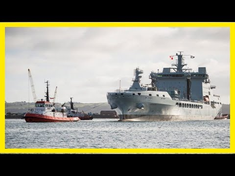 Breaking News | New ship to support the aircraft carriers arrives in uk