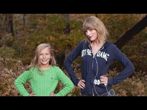 Taylor Swift Crashes Young Fan's Portrait Session—Adorable Poses and All!
