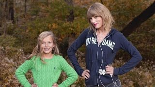 Taylor Swift Crashes Young Fan