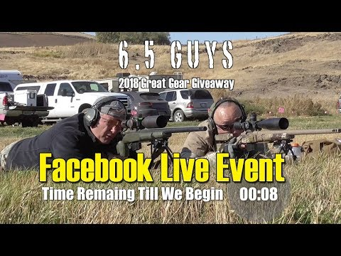 S5 - 05 - Facebook Live Event - 2018 Great Gear Giveaway