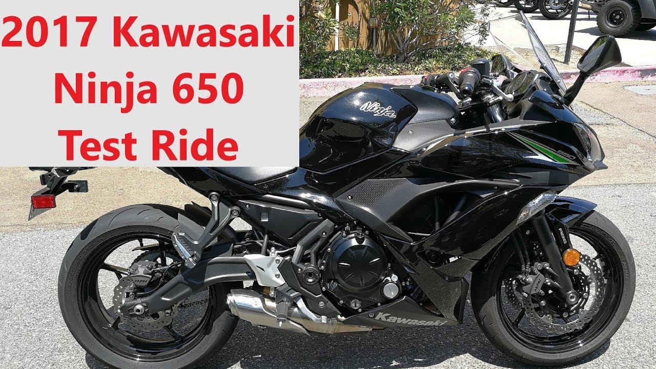 2017 Kawasaki Ninja 650 Test Ride And Comparison Vs Honda Cbr650f