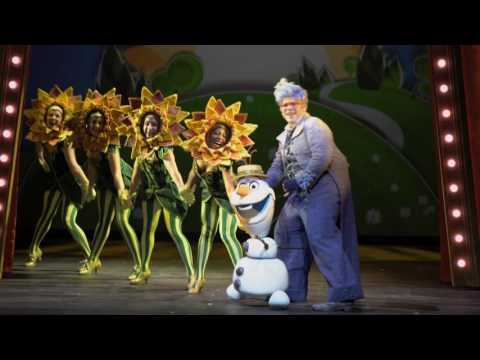 BEHINDTHE SCENES WITH FROZEN: A MUSICAL SPECTACULAR