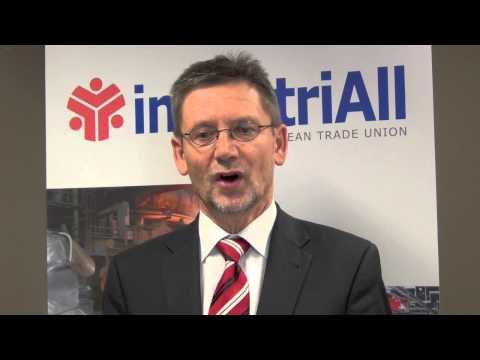 industriAll European Trade Union Secretary General Ulrich Eckelmann