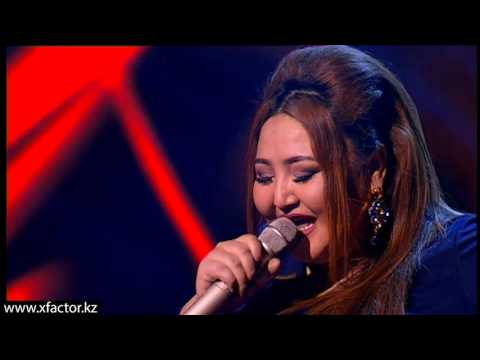 """Ару Ауэзова. """"Твои шаги"""". X Factor Казахстан. 7 концерт. Эпизод 16. Сезон 6."""
