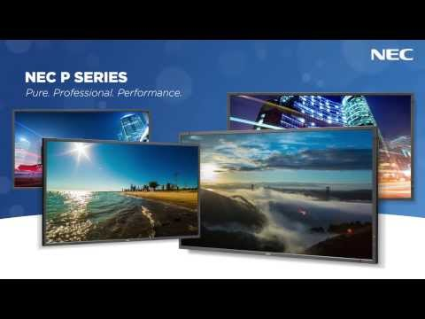 P Series Large-Screen LCD Displays | NEC Display Solutions