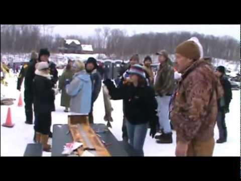 High Falls Reservoir Ice Fishing