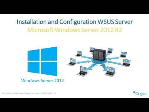 Installation and Configuration WSUS Server Microsoft Windows Server 2012 R2