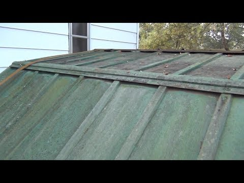 Redneck Shed Roof Repair