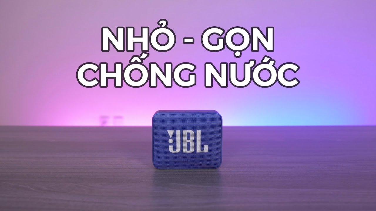 JBL Go 2 – Loa bluetooth ngon trong tầm giá!