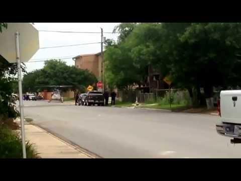 Air Evac near Hidalgo Elementary School.
