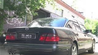 Тюнинг выхлопной системы Mercedes W210 2.4 литра 1998 года