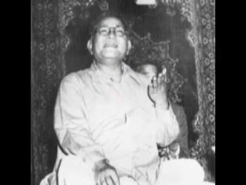 Thumri Bhairavi, Ustad Barkat Ali Khan (baaju band khul)