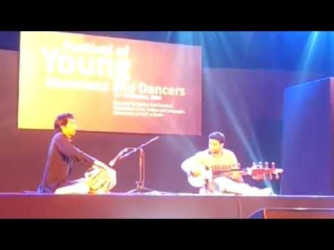 Smit Tiwari has played Sarode in Central Park, Connaught Place, New Delhi