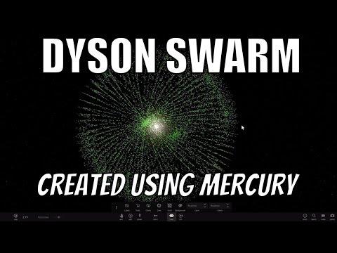 CREATING A DYSON SWARM