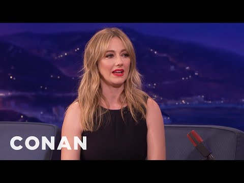 """Judy Greer On Playing """"The Best Friend"""" - CONAN on TBS"""