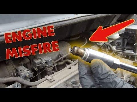 How to diagnose and fix engine misfire, PART 1 , petrol engine. P0300, P0301, P0302, P0303, P0304