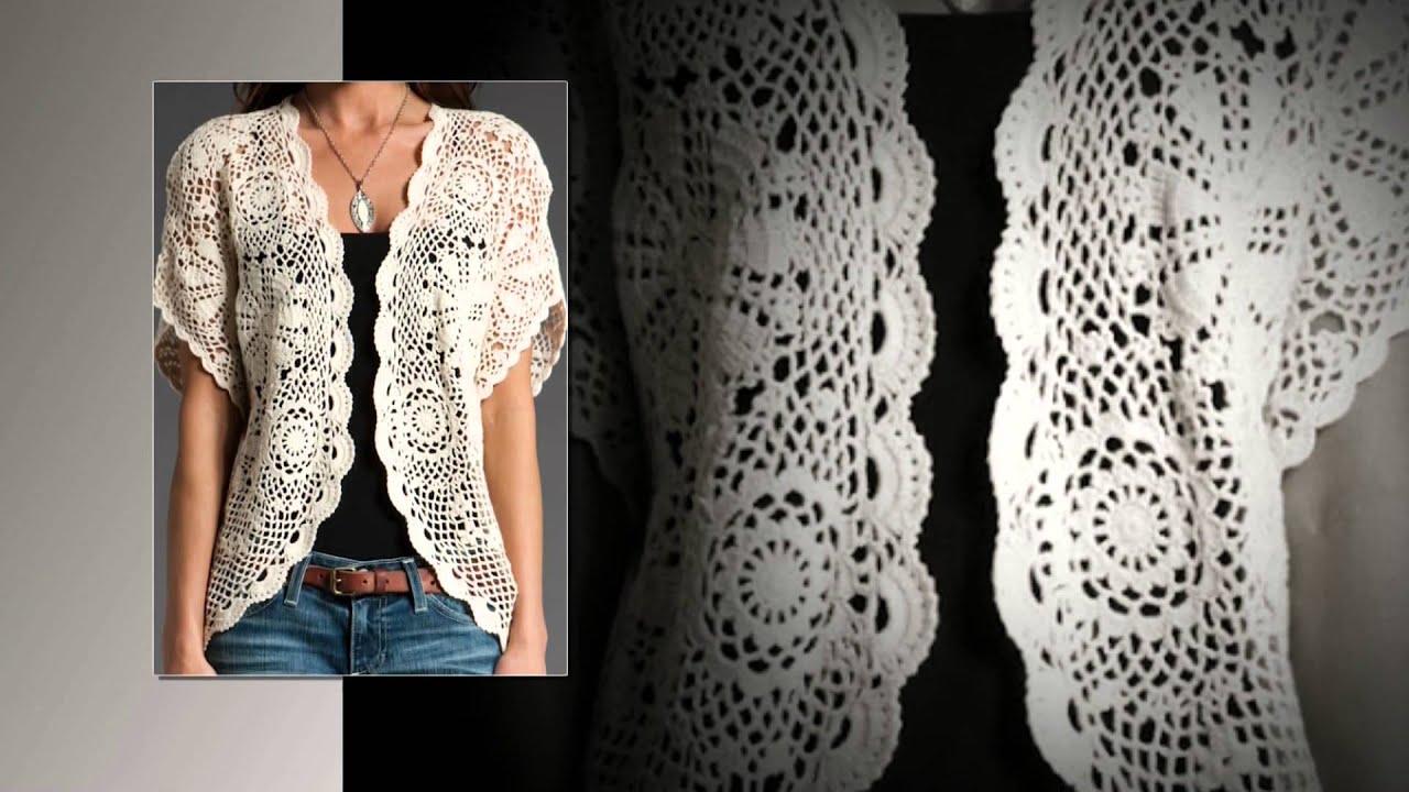 How To Crochet A Waistcoat Free Pattern Youtube