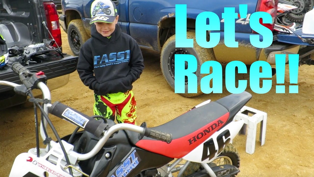 Download First Race of the Season   ECEA Round 1   Honda CRF50
