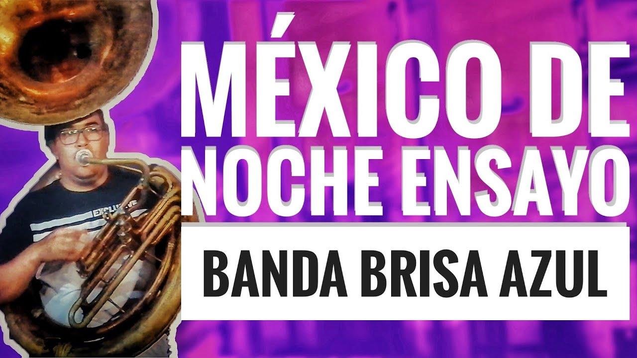 ENSAYO CON BANDA BRISA AZUL