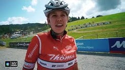 Alessandra Keller l Nach dem Handbruch zurück im Weltcup