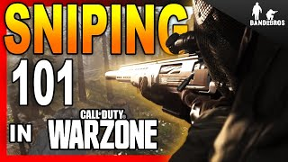 Warzone Sniping Guide | Hit Longer Shots | Improve Your Sniping | Best Sniper Class Bullet lead