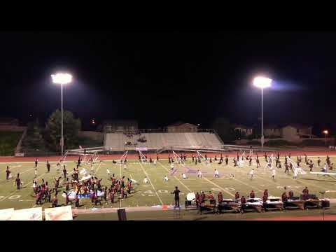 2018 Mission Hills High School Cardinal Alliance at the SCSBOA Field Show Championship