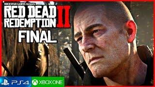 RED DEAD REDEMPTION 2 FINAL Español (Arthur Morgan) 4K | Mision Red Dead Redemption (Final Bueno)